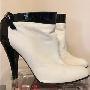 Chanel Leather Boots - Open Back 37